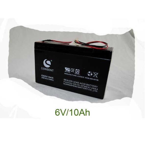 Pin acid battery (6V/10Ah)