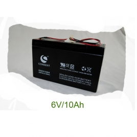 Pin acid battery (6V/10Ah)